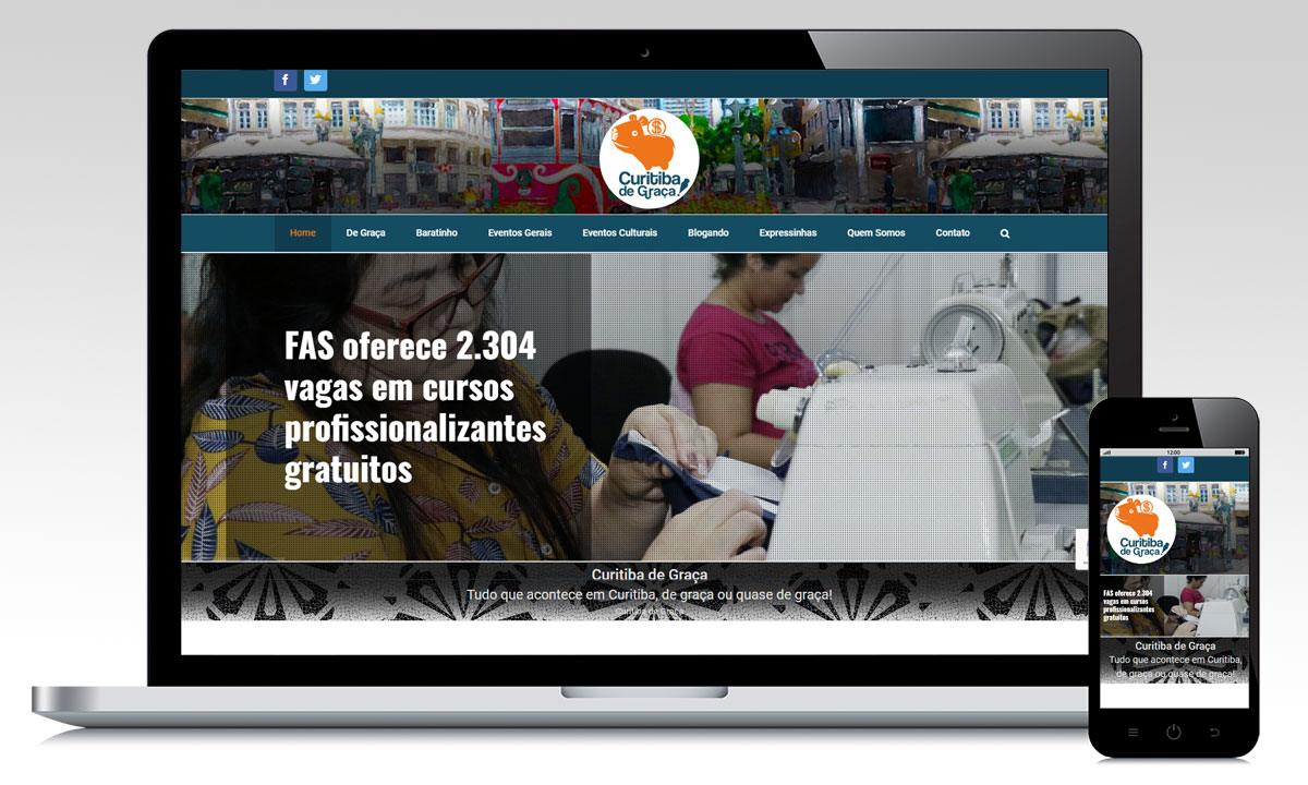 Portal Curitiba de Graça
